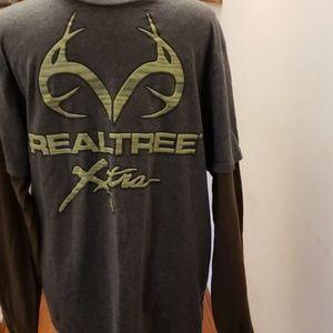 REALTREE shirt  size large
